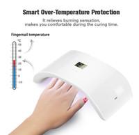 Nail Dryers 36W UV Dryer Dual LED Lamp Gel Polish Curing Light Double Power 99s Digital Timer Art Tools Sun 9x Plus