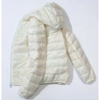 Women Jackets Make Eend Donsjack Ultra Light Veer Jas Plus Overcoat Windbreaker 3XL