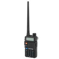 Walkie talkie pofung interfone civil p8uv 5w 1800mAh gmrs duplo tubo de energia dividido carregando antena destacável adulto analógico