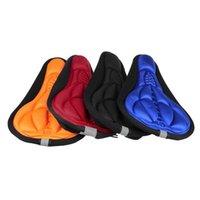 Almofada / travesseiro decorativo MTB Mountain Bike Bike Engrossado Comfort Extra Comfort Ultra Soft Silicone 3D Gel Pad Almofada Capa Bicicleta Saddle Seat