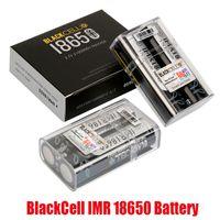 الأصلي blackcell imr 18650 البطارية 3100mAh 40a 3.7 فولت عالية استنزاف قابلة للشحن شقة أعلى vape مربع وزارة الدفاع بطاريات ليثيوم 100٪ أصيلة