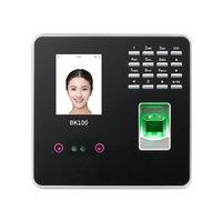 ZK 100% Original BK100 TCP / IP USB Biométrico Digital Fingerprint Face Reconhecimento Facial Funcionário Funcionário Time Relógio Relógio Relógio Sistema Dispositivo