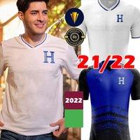 21/22 República de Honduras Soccer Jerseys 11 Castillo 6 Garcia Jerseys 9 Lozano 7 Izaguirre 13 République populaire République 2021 2022 Camisetas de Fútbol Shirt de football