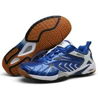 Tennis shoes Men's and women's shock absorbing volleyball breathable training anti skid tennis light indoor stability 0903