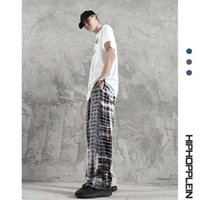 Men's wear | reflective striped trousers in autumn and winter