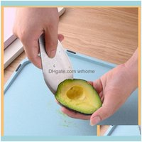 Kitchen Tools Kitchen, Dining Bar Home & Garden Avocado Slicer Stainless Steel 3 In 1 Tool For Dig Vegetable Fruit Toast And Guacamole Drop
