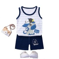 Baby Summer Set 2021 T Shirt + Shorts 2 Pieces Tracksuit Kids Boy Sports Clothing Clothes For Babyies Outfit 9 Months To 6Y Sets