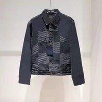 2021 Outono e Inverno Mens New Denim Jacket Casacos de qualidade para homens e mulheres jaquetas ZDLL0424.