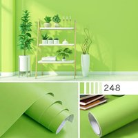 Wallpapers Bedroom Warm Wallpaper Pure Color Wall Stickers Furniture Renovation Waterproof Pvc Self-adhesive