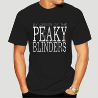 T-shirt da uomo Tshirt Tshirt Big Size Peaky Blinder per ordine di Blinder Plain T Shirt Adulto Tees Vintage 0442E