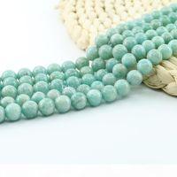 Натуральный драгоценный камень Свободные бусины для ювелирных изделий 6 8 10 мм 15-дюймовая прядь набор L0097 #