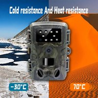 Cameras Trail Camera 20MP 1080P HD Game Waterproof Wildlife Scouting Hunting Cam With 120 Wide Angle And Night Vision