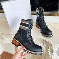 Женская печать Martin Roman Boots Вышивка Обувь Кроссовки Женская Платформа Браун Черный Парткет Мода Половина Загрузки
