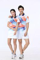 Badminton Wear Sets für Frauen / Männer Outdoor Apparel Tennisanzug Tisch Vater Paar Sport Set ST1327