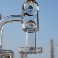 Smoke newest glass opal splash ball wiht a quartz banger and fume pearls terp slurper set