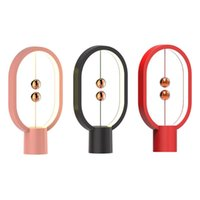 Table Lamps Balance Lamp Magnetic Touch Switch Desk Light LED Bulbs Home Decoration