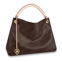 Сумки сумки сумки на плечо женщины рюкзак женские кошельки коричневые кожаные муфты мода кошелек большой размер Tote GM 41/32/22 см 40249 # AE02