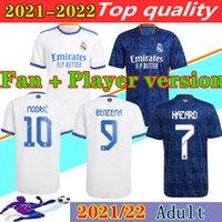 Player Version Fußball Trikots Real Madrid 20 21 Gefahr JOVIC MILITAO soccer jersey T-Shirt 2020 2021 VINICIUS JR ASENSIO Fußball Trikot MARCELO ISCO T-Shirt