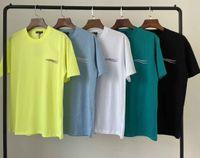 2021Original 디자이너 B 티즈 남성 여성 럭셔리 셔츠 패션 캐주얼 T 셔츠 남자 의류 거리 반바지 소매 옷 Tshirts 20ss