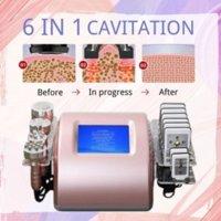 Us Stock 7In1 Ultrasonic Cavitation 2 Rf Vacuum Pon Led Laser Slimming Weight Loss Anti Aging Skin Care Beauty Machine
