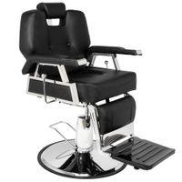 WACO все назначенные гидравлические рекорки парикмахерские кресло, салон мебель для стрижки волос стиль укладки шампунь воском с подставками для ног для красоты магазин - черный