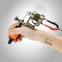 Tattoo-Guns Kits Professionelle Drehstift Hybrid Permanent Makeup Maschine Starker leiser Motor Supply Set