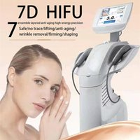 High intensity focused ultrasound 7D HIFU body slimming machine 25000 shots Painless v max anti-wrinkle anti-aging skin tightening Face Lift Beauty Machine