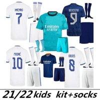 Benzer Ürünlerle Karşılaştır Gerçek Madrid Tehlike Çocuk Kiti Futbol Formaları Modrit Benzema Eve Uzakta Üçüncü Yeşil Alaba Camiseta De Fútbol Asensio Çocuk Futbol Gömlek 21 22