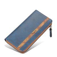 Wallets Men's Clutch Bag Multi-card Simple Zipper Long Fashion