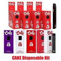 New Cake Delta 8 Disposable Device Kit One Gram 1.0ml Empty E-cigarettes Thick Oil Pod Cartridge Rechargable 280mAh Battery Vape Pen Puff Plus