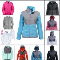 여성용 양털 재킷 코트 방풍 따뜻한 부드러운 쉘 스포츠웨어 여성 키즈 스포츠 핑크 화이트 코트