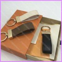 Neue Mode Keychain Designer Kurz Schlüsselanhänger Auto Schlüssel Charm Ring Frauen und Herren Festtasche Anhänger Kette Gold Schnalle D217311F