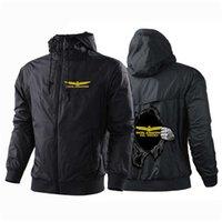 Gold Wing Honda Designer Custom Hoodies Zipper Patchwork Harajuku Fleece Jackets Coats Casual Sweatshirts