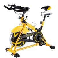 Fahrradfahrräder in Innenräumen, 44 £ Flywheel-Impulssensor / LCD-Monitor / iPad Mount Training Bike / einstellbarer Lenker