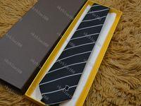 Fashion Marque Hommes Cravates 100% Silk Jacquard Classic Tissé Homme Hommes Cravate pour hommes pour hommes Mariage Cadre décontracté et économique 925