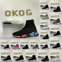 chaussures hommes balenciaga balenciaca balanciaga 2021 with box designer men women speed trainer sock boots socks boot casual shoes shoe runners runner sneakers