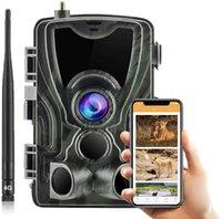التطبيق مجانا تريل كاميرا سحابة خدمة 4 جرام البرية الصيد مراقبة الخلوية موبايل 30MP 2K كاميرات لاسلكية