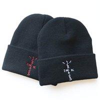 Gorros Cactus Jack Sombrero de punto Travis Scott Otoño e invierno Hat Astroworld Sombreros de lana caliente