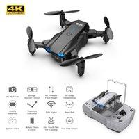KY906 Mini Drone Multi-Choice 4K HD Doble Dual Cámara Profesional WiFi FPV Quadcopter Dron Sígueme Helicóptero RC