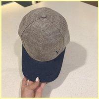 Nylon Baseball Cap Fashion Designer Designer Caps Cappelli Cappelli uomo Lettera V Canvas Donne Cap Bucket Cappelli Luxurys Bonnet Beanie Mütze 21071501R