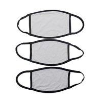 Blanks Sublimation Face Mask Adults Kids Masks PM2.5 Junta Prevención de polvo para la impresión de transferencia de bricolaje WWA283