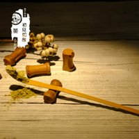 Retro Natural Bamboo Matcha Scoop Tea Tools Powder Coffee Spoon RRD6776