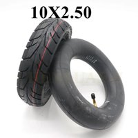 10Inch Pneumatic Tubeless Tire 10x2.50 Fits For Electric Scooter Balance Drive Bicycle Tyre 10x2.5 Without Inner Tube Motorcycle Wheels & Ti
