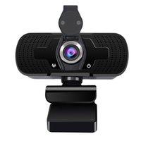 Super Full HD 4K 4MP USB computadora PC cámara web web con cubierta de privacidad para videollamadas Conferencia webcams