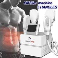 HiemTPro Emslim Neo RF Minceur Machine Emshape 4 Poignée de poids Dispositif de perte de poids Hi-EMT Constructeur de muscle