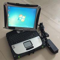 AllData 10.53 Ferramenta de diagnóstico automático Computador CF19 Touch Screen Toughbook HDD 1TB Software de reparação para carros