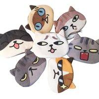 عملة المحافظ النساء لطيف طباعة القط الوجه فتاة أفخم محفظة تغيير حقيبة محفظة