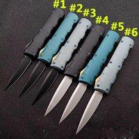 Mirco CNC Pocket Knife Automatic Double Action Outdoor Tactical Autodifesa Caccia Survival Survival Auto Coltelli BM 3310 3350 535 940 3400 4600 3551 355 3551 EDC ZT Dea Angela