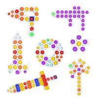 Juegos de novedad Anti-Rat Pioneer Building Blocks Bubble Los juguetes educativos para niños para desarrollar el ejercicio cerebral que el pensamiento puede ser una costura infinita GYQ