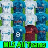 2021 mls jersey da calcio Inter Miami Lafc Toronto Orlando X Parley Austin Philadelphia Union City Columbus Atlanta Vancouver Whitecaps D.C. United Football Jersey